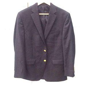Ralph Lauren Blue Blazer, brass buttons, 38R
